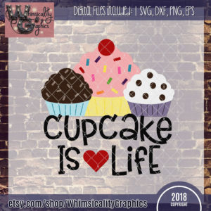 Cupcake is Life Design