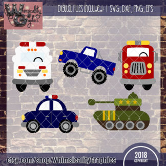 Whimsical Hero Vehicles Bundle