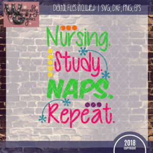 Nursing Study Naps Repeat
