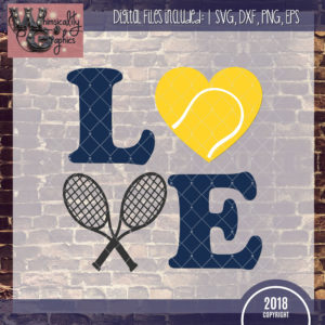 LOVE Tennis Design