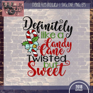 Definitely Twisted Candy Cane