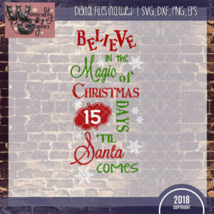 Believe Magic Santa Countdown