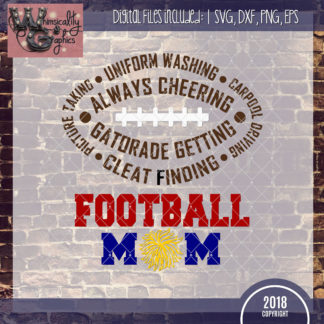Football Mom Design
