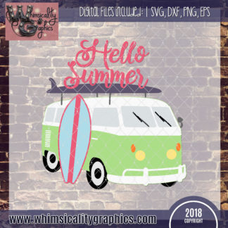 Hello Summer Van Surfboard