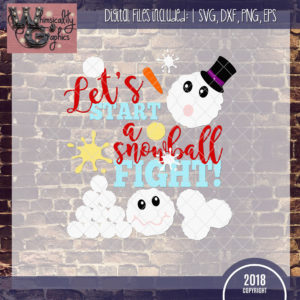 Let's Start a Snowball Fight