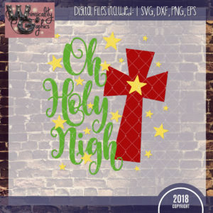 Oh Holy Night With Cross