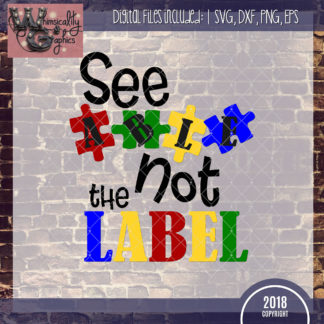 Members Only - See Able Not the Label Autism