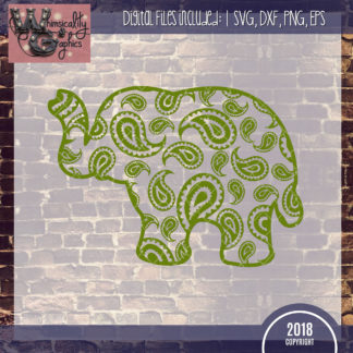 Members Only - Paisley Elephant Design