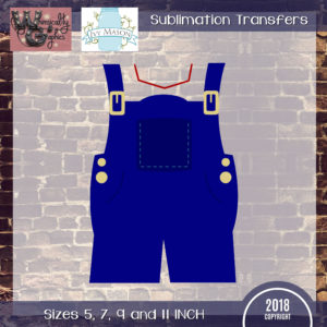 WGS197 Farm Overalls Sublimation Transfer