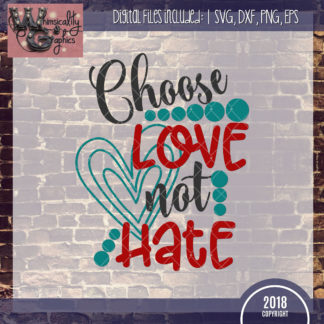 Choose Love Not Hate