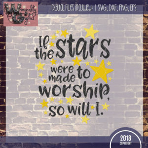 If the Stars Were Made to Worship