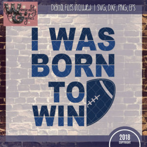 Born To Win Football