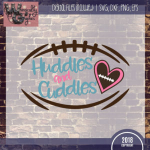 Huddles Cuddles Football