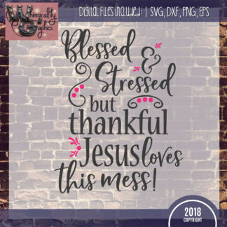 Members Blessed Stressed