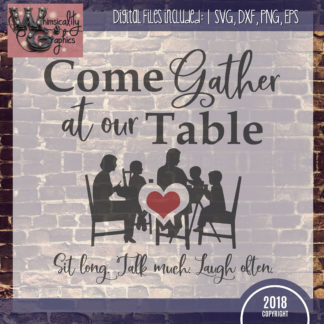 Members Come Gather Table