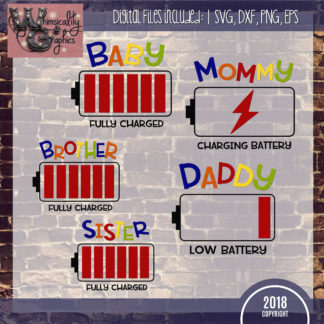 Members Battery Charge Family Set