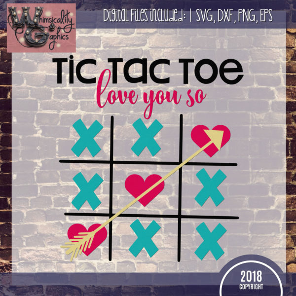 Members Tic Tac Toe Love You So