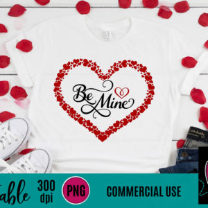 WGP106 Be Mine Printable