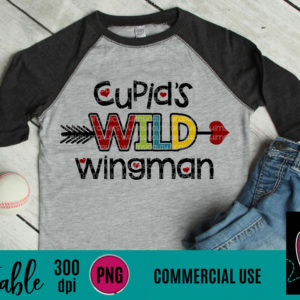 WGP112 Cupid's Wild Wingman Printable