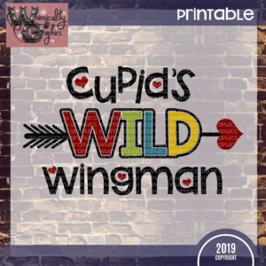 Printable Cupid's Wild Wingman