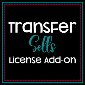 transfer sells license