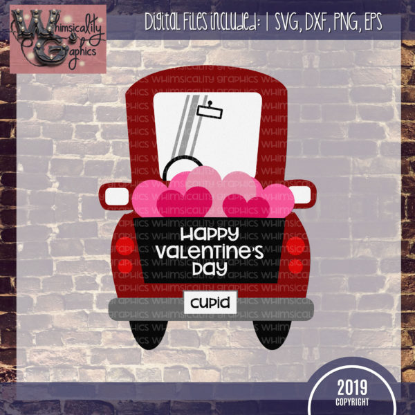 Whimsy Valentine Truck