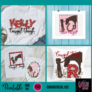 Printable Cowgirl Bundle